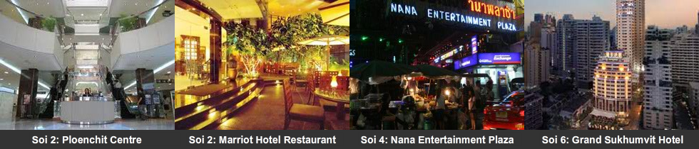 Soi 2 to 6 attractions