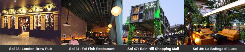 Soi 31 to 51 attractions